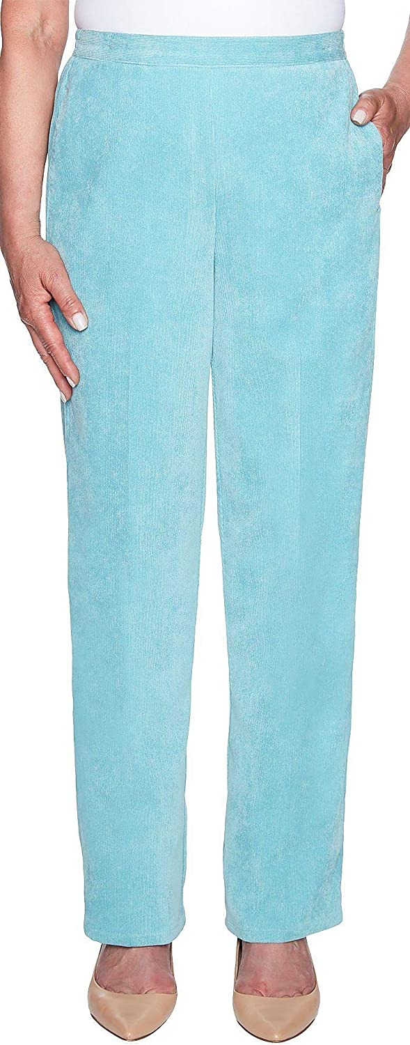 Alfred Dunner Women's Simply Irresistible Proportioned Medium Corduroy Pant