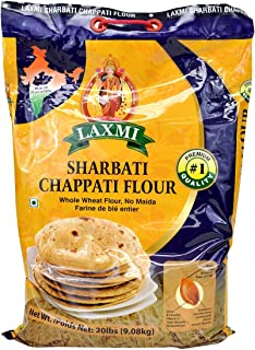 Laxmi Sharbati Chapti Flour 20 Lbs