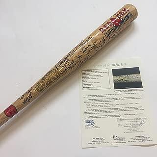 Signed Carl Yastrzemski Bat - Beautiful HOF Greats Cooperstown 25+ Sigs Yaz COA - JSA Certified - Autographed MLB Bats
