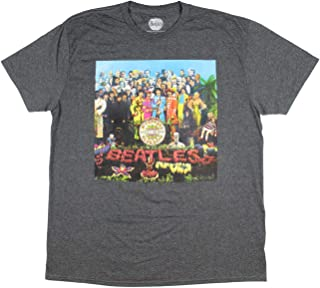 The Beatles Mens' St. Peppers Lonely Hearts Club Band Album Artwork T-Shirt