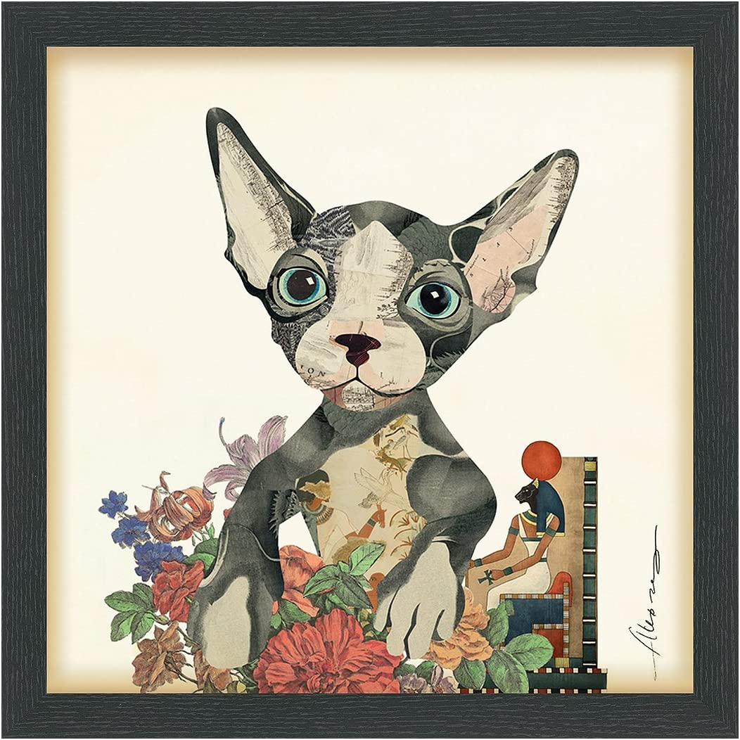 Empire Art Direct Sphynx Dimensional by Ze Handmade Alex Max 60% OFF Max 56% OFF Collage