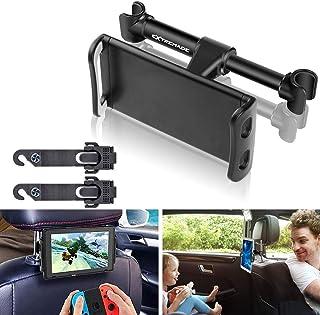 Support Tablette Voiture Appuie-tête Universel, Porte Tablette Auto,Taille Réglable de..