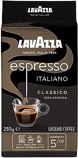 Lavazza Café Molido Caffè Espresso Classico, 100% Arábica, paquete de 4 x 250 g (Total: 1 kg)