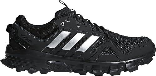 Adidas Men's Rockadia Trail m, Core noir Matte argent Carbon, 10.5 M US