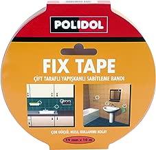 Polidol Fix Tape Çift Taraflı Montaj Bantı, 19 mm x 10 m