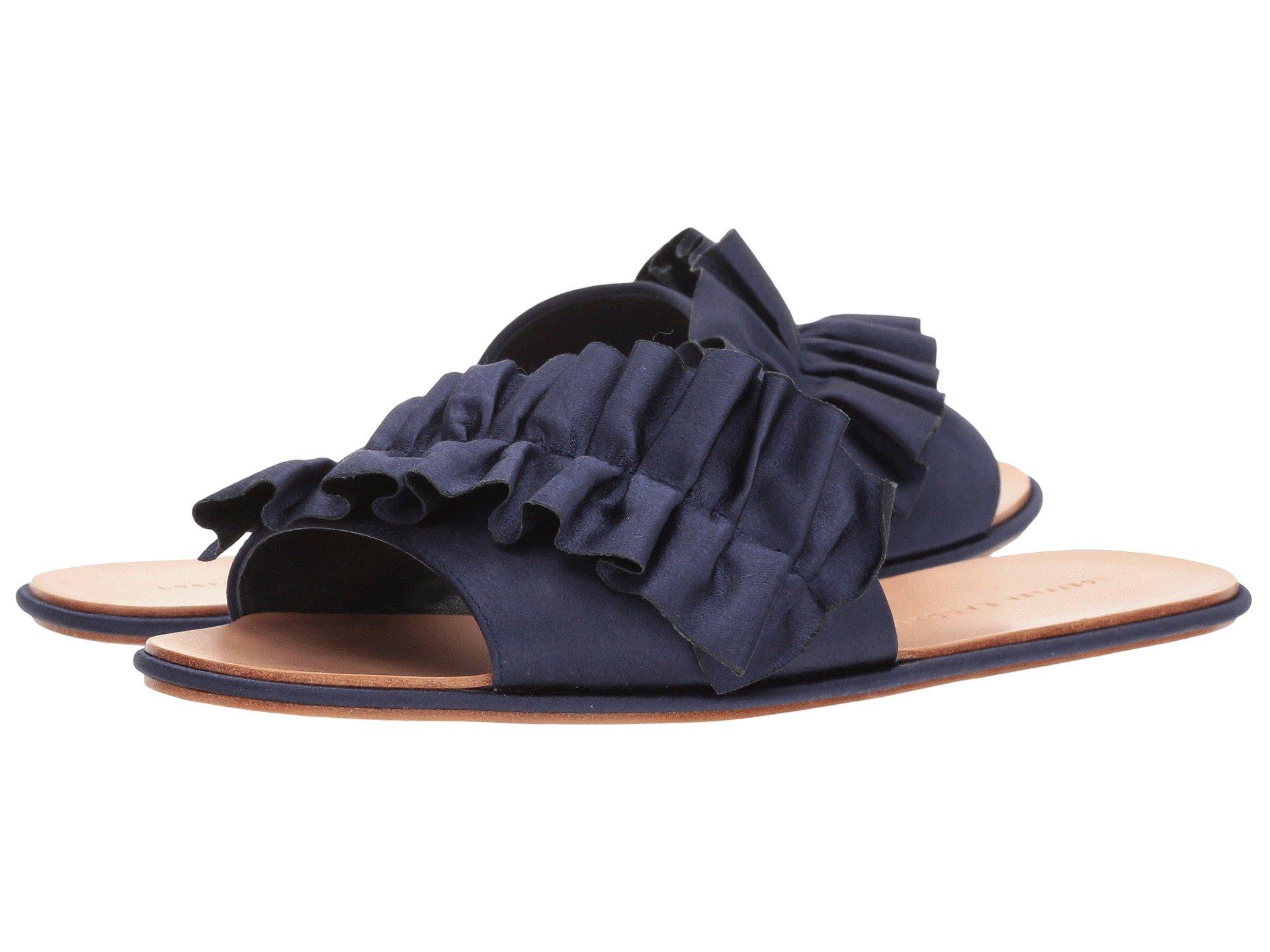 Loeffler Randall Women's Rey-sat Slide Sandal