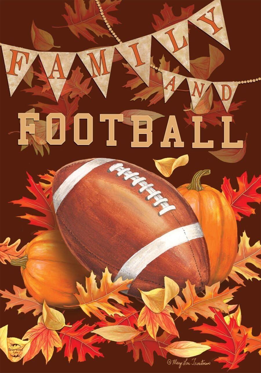 Briarwood 40% OFF Cheap Sale Lane Family Football Fall Autumn Brand Cheap Sale Venue Flag Leaves House S