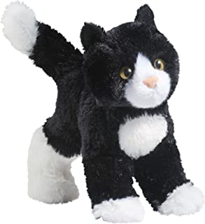 Douglas Snippy Black & White Cat Plush Stuffed Animal