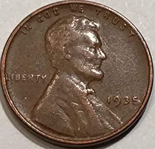 1935 wheat cent