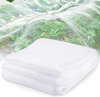 LOVEXIU Malla Jardin 6m x 2.5m,Anti Insectos Red Proteccion Plantas Antimosquitos para Plantas De JardíN, Flores Huerta An...