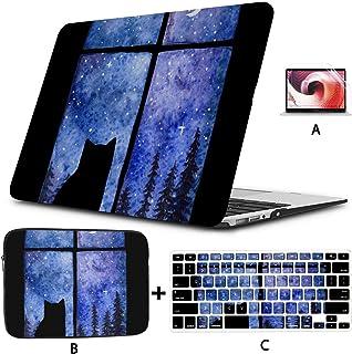 Macbook Shell Un Gato Mirando a la Luna Estuche Mac Book Pro Carcasa Dura Mac Air 11