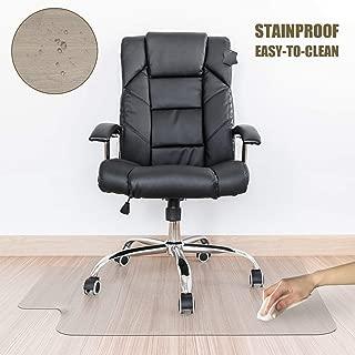 Kuyal Clear Chair Mat, Hard Floor Use, 30