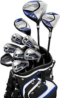 PowerBilt New Grand Slam 2 Blue Complete Golf Club Set Steel 2018 +1