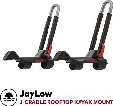 Yakima - JayLow, J-Style Fold Down Rooftop Kayak Carrier, 2 Boat Capacity