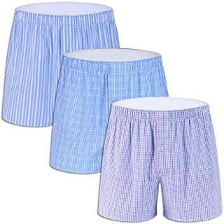 f8c2f88c226 Men s Colorful Woven Boxer Underwear 100% Cotton Premium Quality Shorts