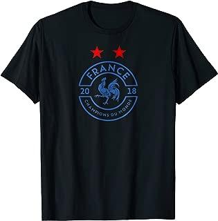 France World Champions Due Monde 2018 T-shirt