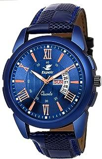 Espoir Analog Blue Dial Men's Watch-ES-81940
