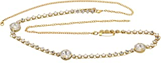KRITIKA CREATIONS Alloy Stone Gold-plated Kamarband for Women