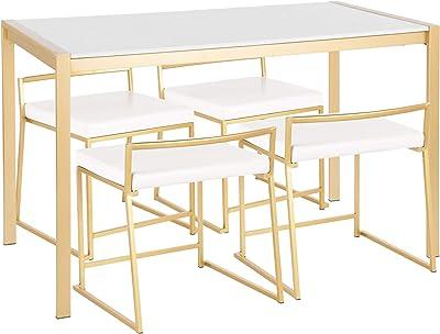 Amazon.com: China muebles online palisandro juego de comedor ...