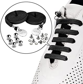 No Tie Elastic Shoelaces, Flat Running Tieless Shoe Laces,One-Size Fits All