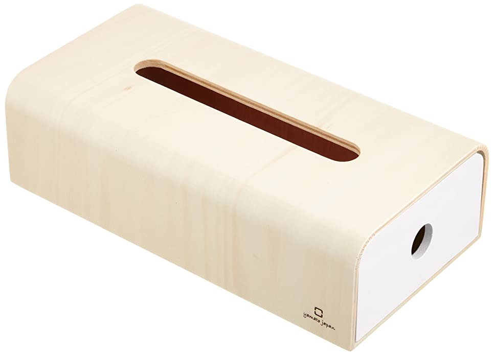 ライオネルグリーンストリート知覚十分なヤマト工芸 ティッシュボックス 「ソフトパック用ティッシュケース」 ホワイト YK15-107
