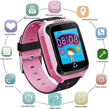 Niños Smartwatch Localizador GPS, Reloj Teléfono con GPS LBS ...