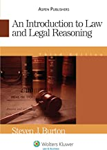 An Introduction To Law and Legal Reasoning (Introduction to Law Series)