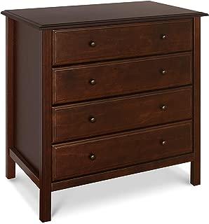 Davinci Jayden 4-Drawer Dresser, Espresso