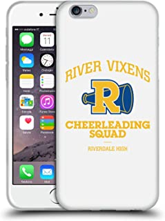 Official Riverdale River Vixens Logo Graphic Art Soft Gel Case Compatible for Apple iPhone 6 / iPhone 6s