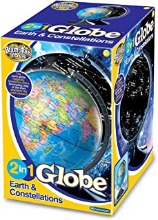 brainstorm E2001 2 in 1 Globe Earth and Constellations