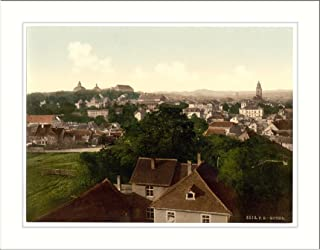 Gotha with Inselberg Thuringia Germany, c. 1890s, (L) Library Image