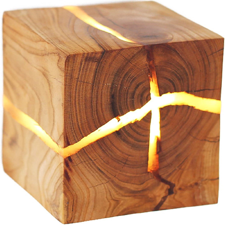 precios al por mayor JUIANG Forma Creativa de Madera de de de Crack LED lámpara de Parojo de la Parojo de la lámpara del Pasillo de la decoración del Dormitorio Lámpara de Parojo de Madera de la lámpara del Cuarto de bao  estilo clásico