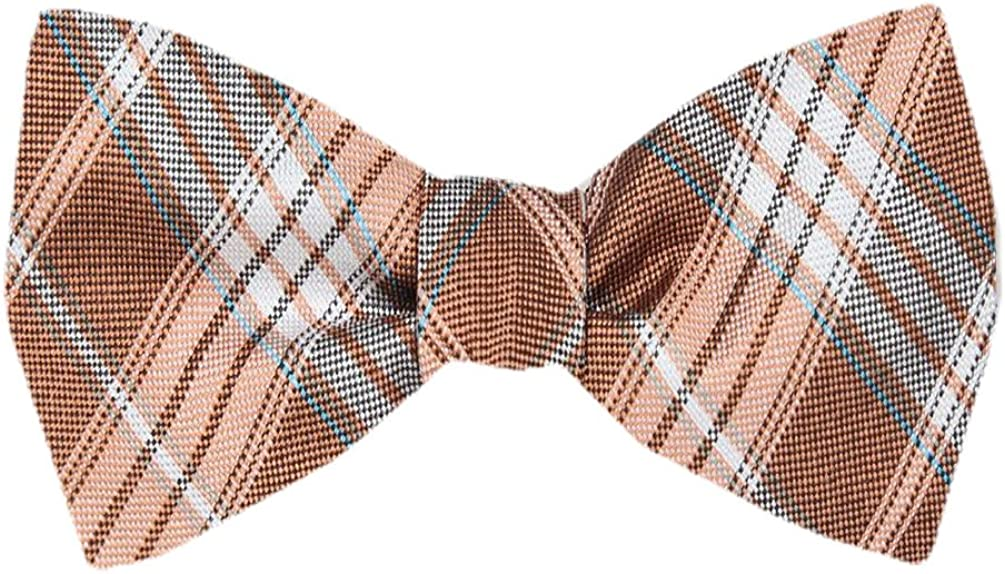 FBTZ-1011 - Men's Silk Self Tie Bowtie Tie Yourself Bow Ties