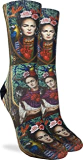 N\A, Calcetines Ode to Frida Kahlo para mujer - Negro, Talla de zapato 5-9