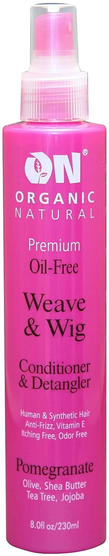 ON Organic Natural Premium Oil-Free Weave & Wig Spray Pomegranate 2 oz.