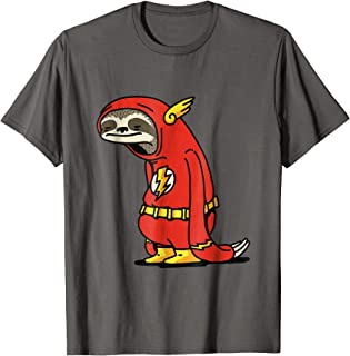 Funny Sloth Superhero t-shirt. Perfect gift for holidays