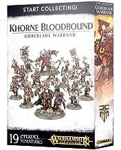 Warhammer Start Collecting! Khorne Bloodbound Goreblade Warband Age of Sigmar
