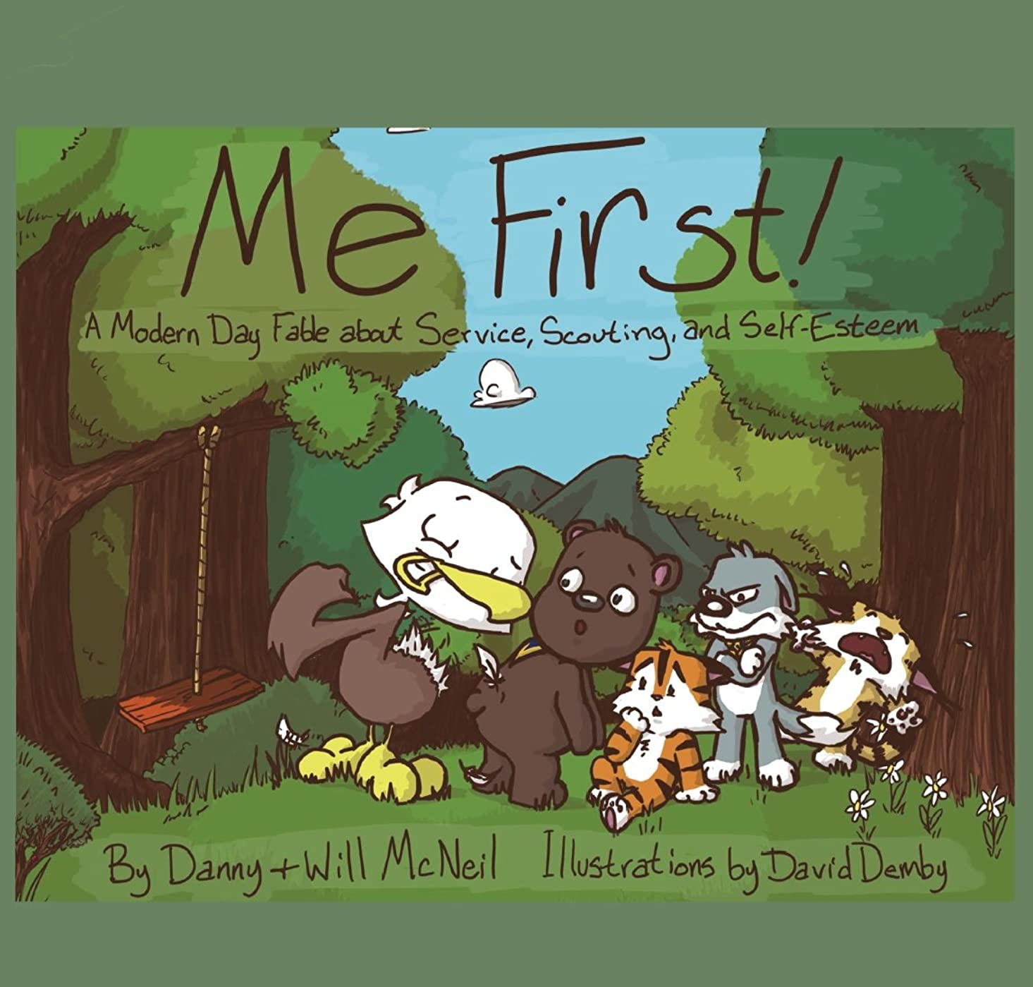 バルセロナパスタ爆風Me First!: A Modern Day Fable about Service, Scouting, and Self-Esteem (English Edition)
