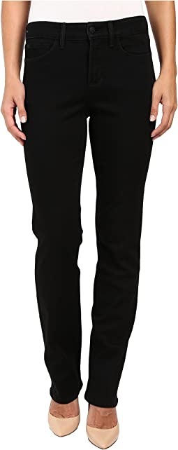 Marilyn Straight Jeans in Black