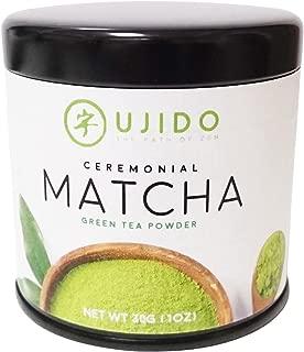 Ujido Japanese Ceremonial Matcha Green Tea, 30g (1oz)
