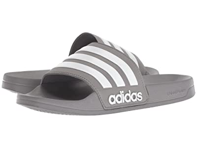 adidas Adilette Shower (Grey 3/White/Grey 3) Men