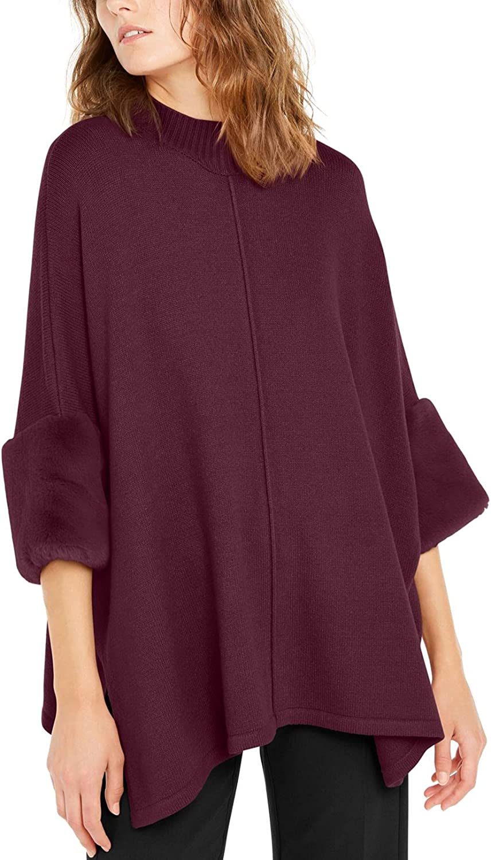 Alfani Womens Pearl Neck Cozy Pullover Sweater