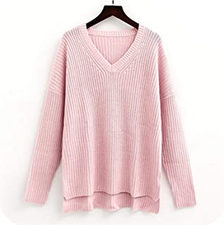 KKK-3boss Women Sweaterss Ladies Winter Sweaters Pullover Autumn V Neck Sweater Women Casual Pullover Sweater