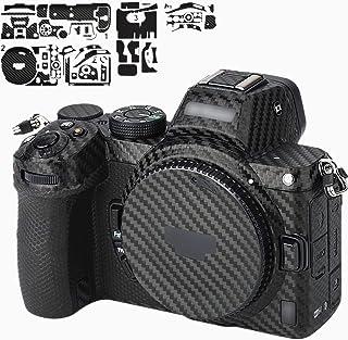 カメラ 保護レザーフィルム ボディフィルム Nikon Z5 Z 5 カメラ に対応 3M材料 カーボンファイバ