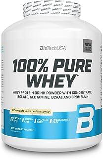 BioTech USA 100% Pure Whey, 2270 g Dose (Bourbon Vanille)