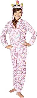 TY Beanie Boo Fantasia Unicorn One Piece Hooded Onesie Costume Holiday Fleece Pajama