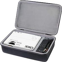 co2crea Hard Travel Case for QKK Mini Projector 4500Lumens Portable LCD Projector / QKK [2020 Upgrade 4200Lux] Potable Mini Projector
