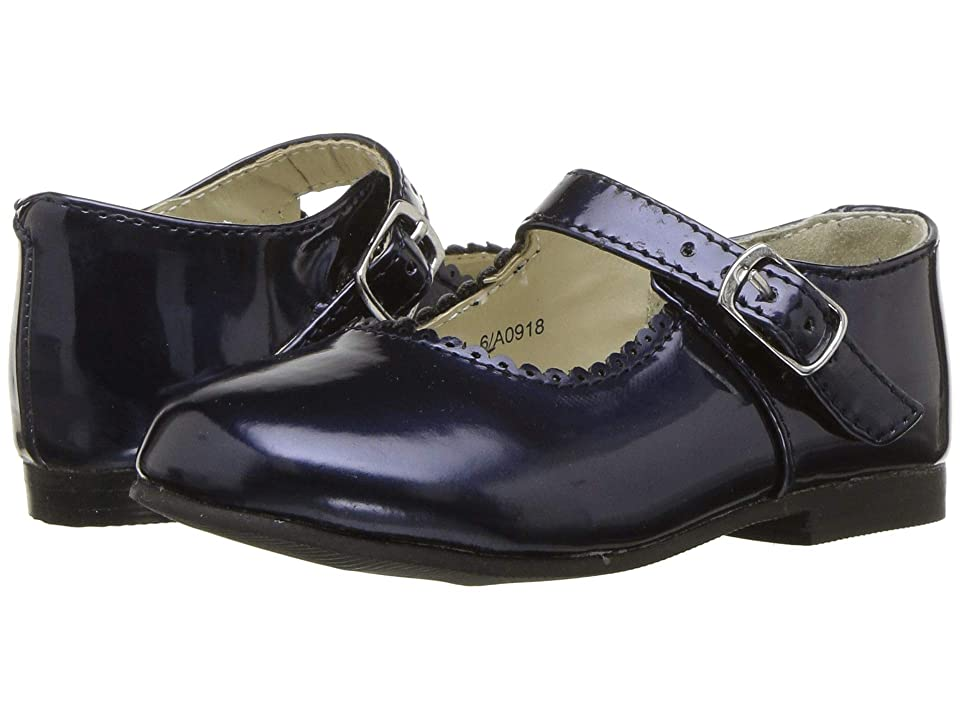 Amiana 6-A0918 (Toddler/Little Kid) (Navy Patent) Girl