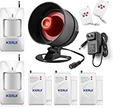 KERUI Upgraded Standalone Home Office Shop Security Alarm System Kit,Wireless Loud..