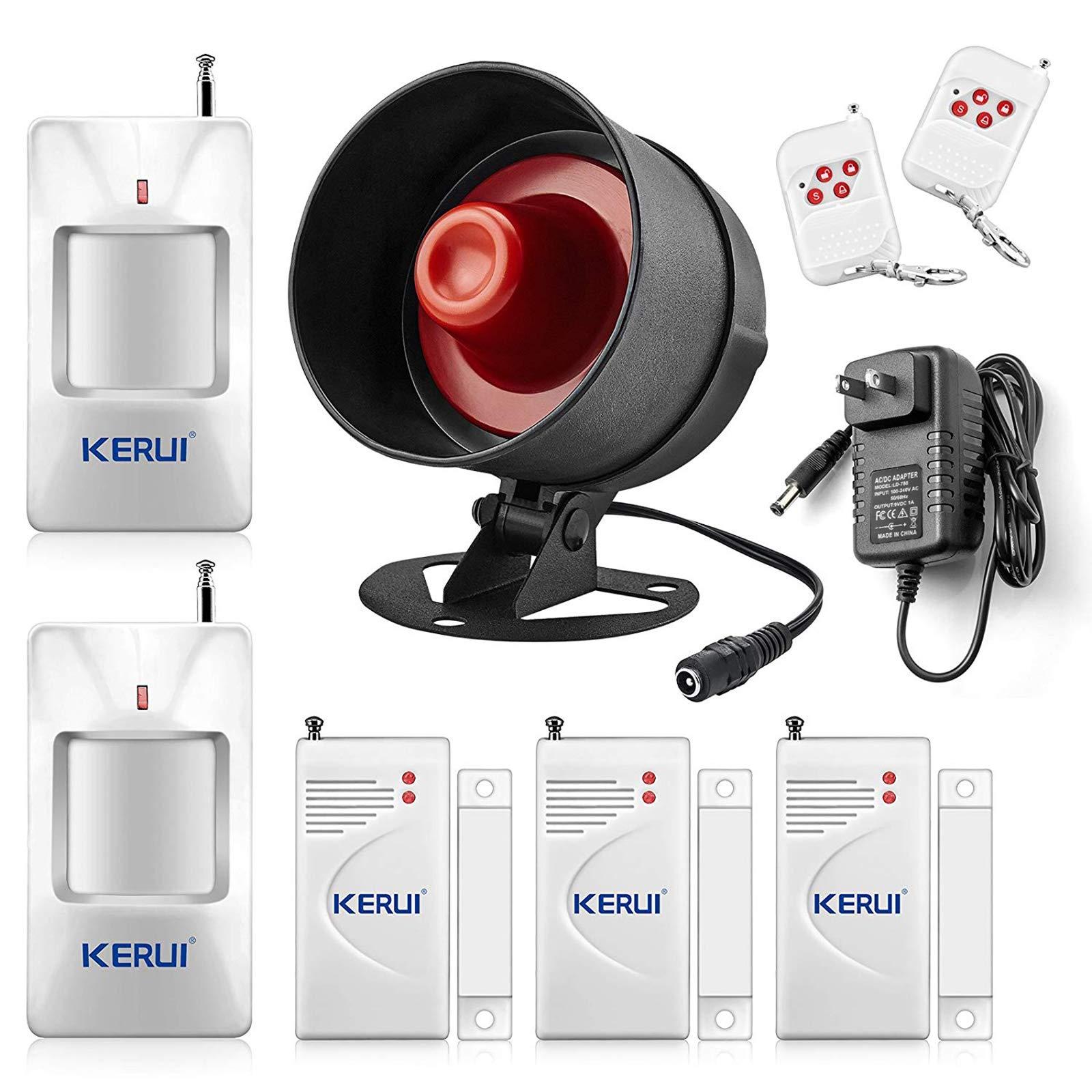 KERUI Standalone Security Wireless Weatherproof